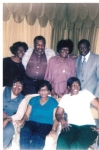 Bottom Row left: Luvenia Richie, Evalena Martin and Rebecca Green.    Second Row left: Deloroes Huguley, Isaac Mc Kee, J