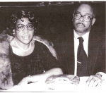 Queen Esther Wheeler Swope and beloved husband Eddie. She is the daughter of Hannah and Charles Wheeler