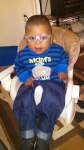 Rev. Wilson Jemison Sr. youngest daughter Tina Smothers's son Elijah Smothers.  Elijah is the miracle baby born with ha